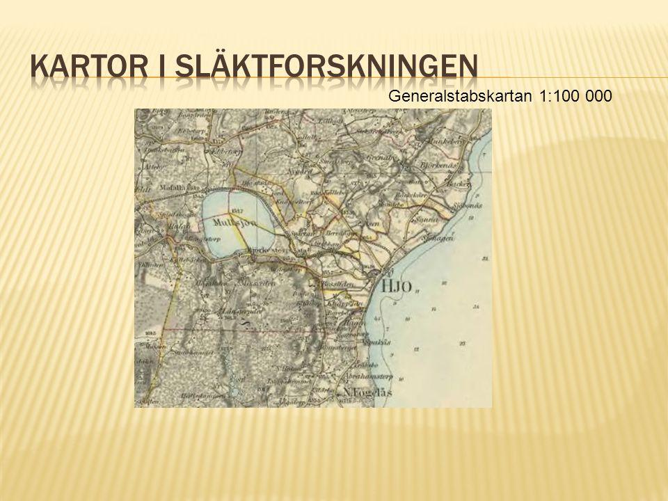 Generalstabskartan 1:100 000