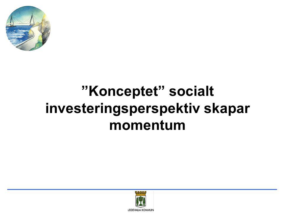 """""""Konceptet"""" socialt investeringsperspektiv skapar momentum"""