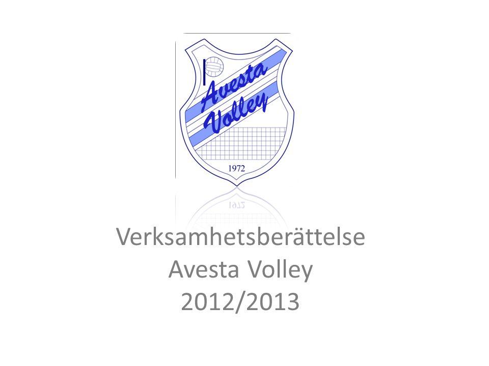 Verksamhetsberättelse Avesta Volley 2012/2013