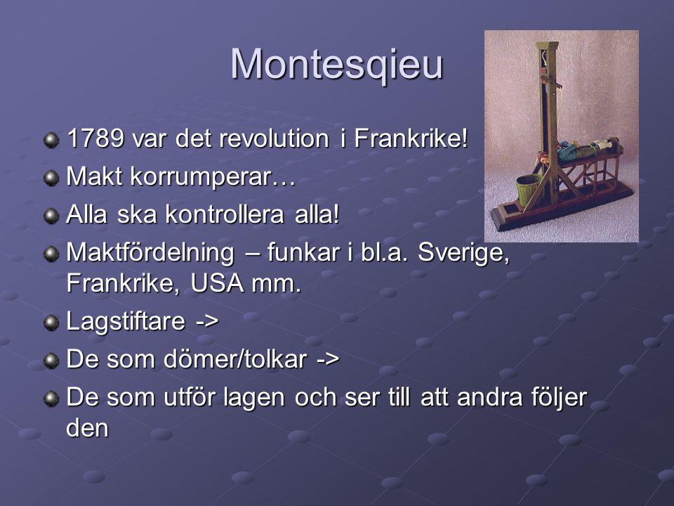 Våra grundlagar – grunden för svensk demokrati 1.Regeringsformen 2.