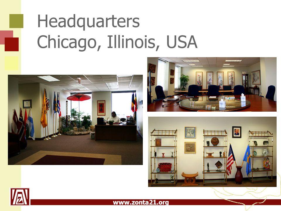 www.zonta21.org Headquarters Chicago, Illinois, USA