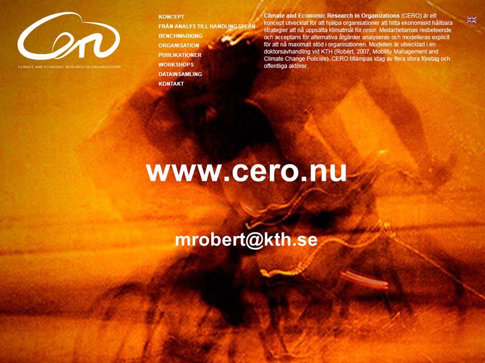 www.cero.nu mrobert@kth.se