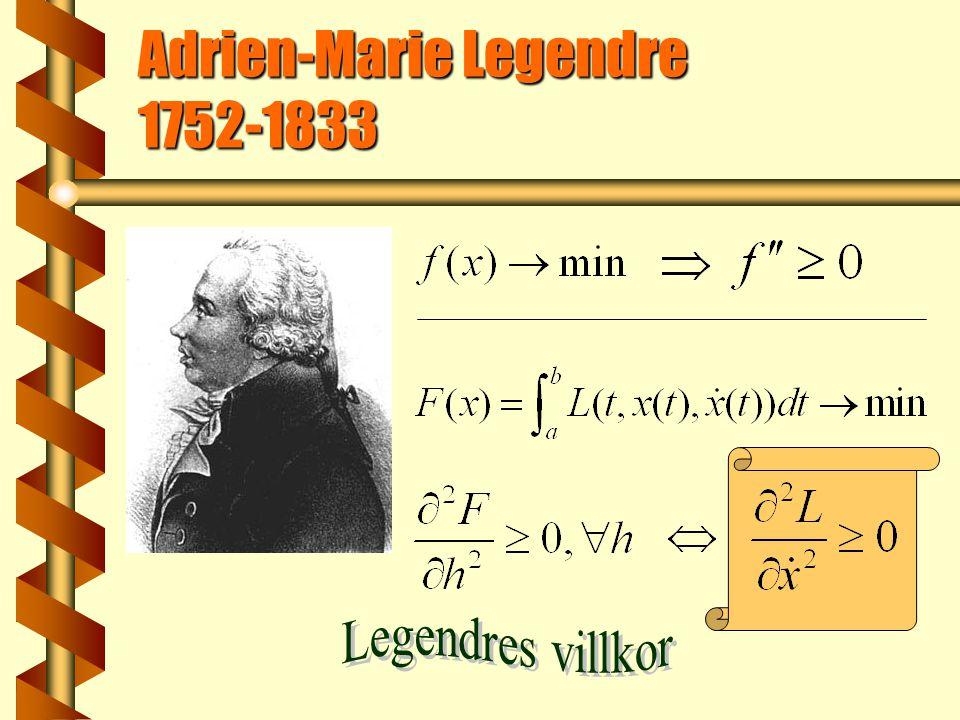 Adrien-Marie Legendre 1752-1833