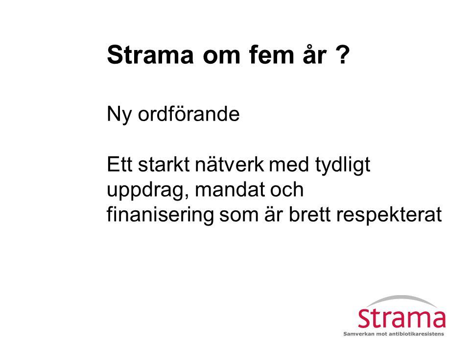 Nationella Strama Ledningsgrupp Andra myndigheter/organisationer Lokala grupper