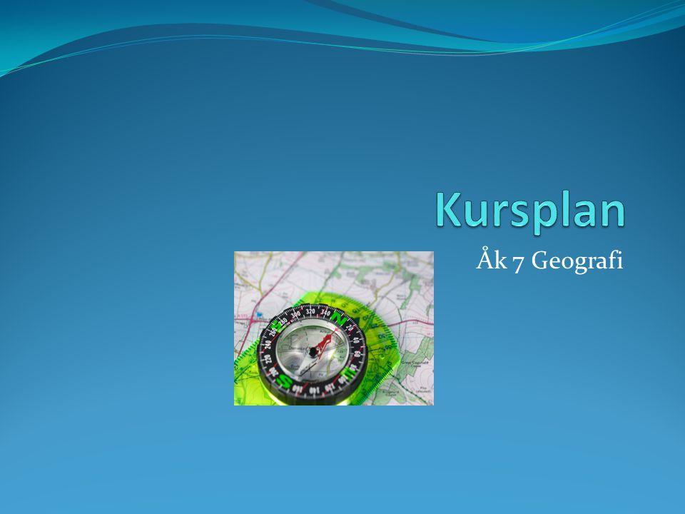 Åk 7 Geografi