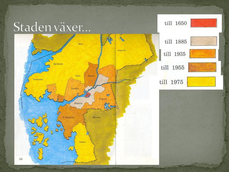 Handeln kräver båtar De stora varvens tid - Götaverken - Eriksberg Stor urbanisering, folk som flyttar in till staden Göteborg går bra – Världsutställningen 1923