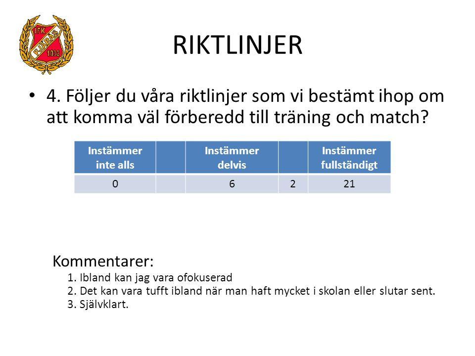 RIKTLINJER 4.