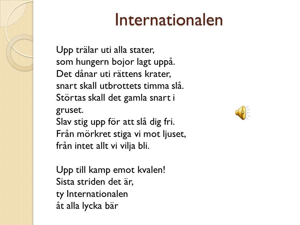 Källor Reidar Larsson (1994) Politiska ideologier i vår tid, Lund Uriel Hedenberg (2003) Politiska idéer – Drömmen om det perfekta samhället, Malmö So-rummet, Robert de Vries.