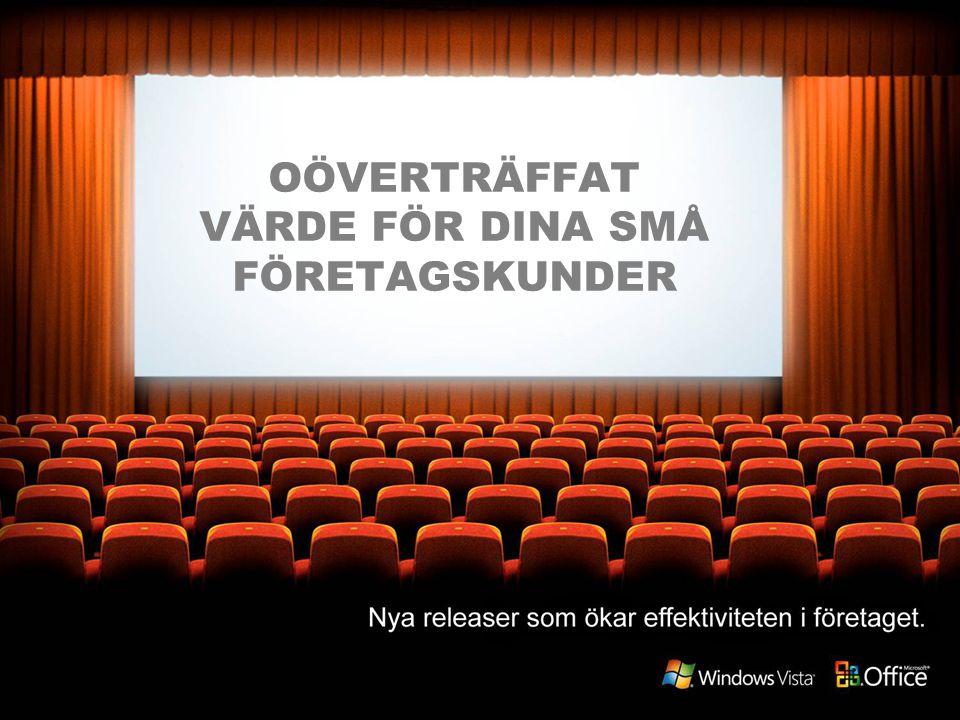 OÖVERTRÄFFAT VÄRDE FÖR DINA SMÅ FÖRETAGSKUNDER
