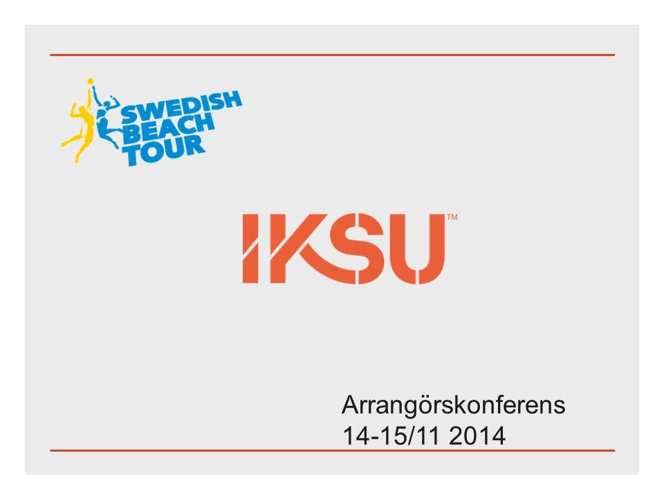 Arrangörskonferens 14-15/11 2014