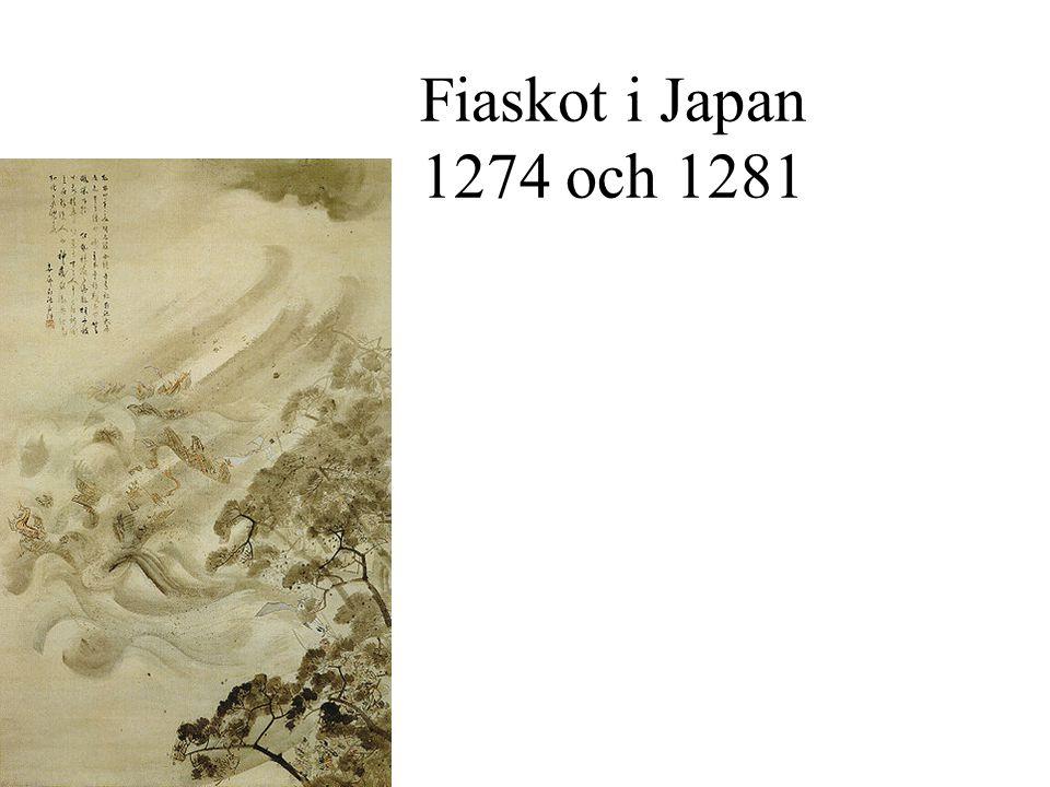Fiaskot i Japan 1274 och 1281