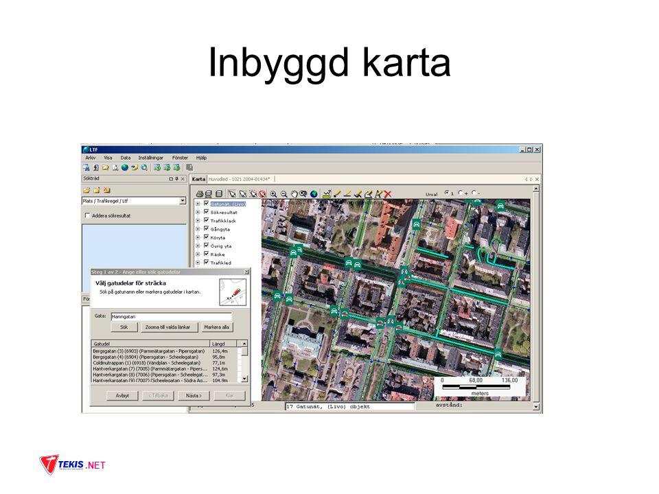 .NET Inbyggd karta