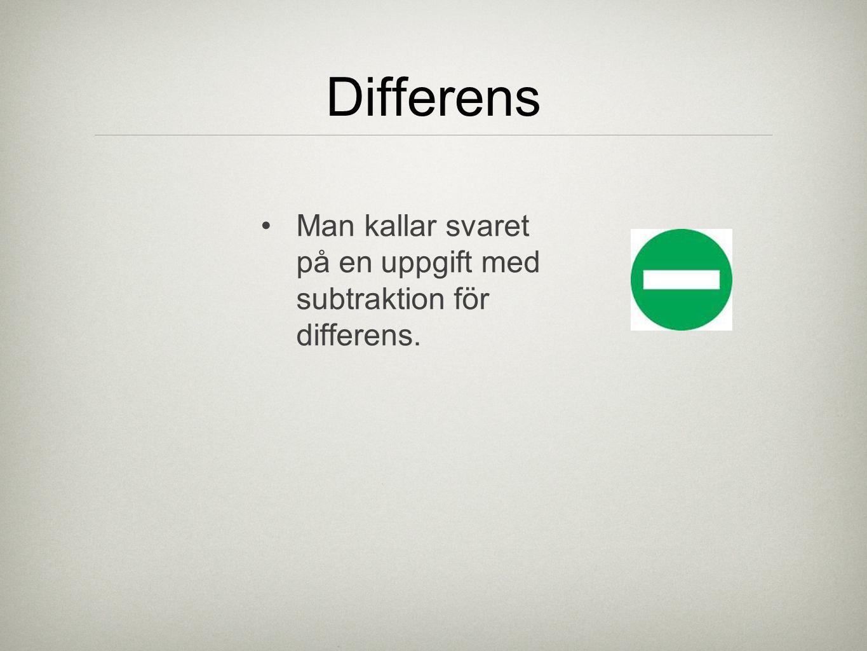 Det finns olika metoder för att lösa en subtraktion.