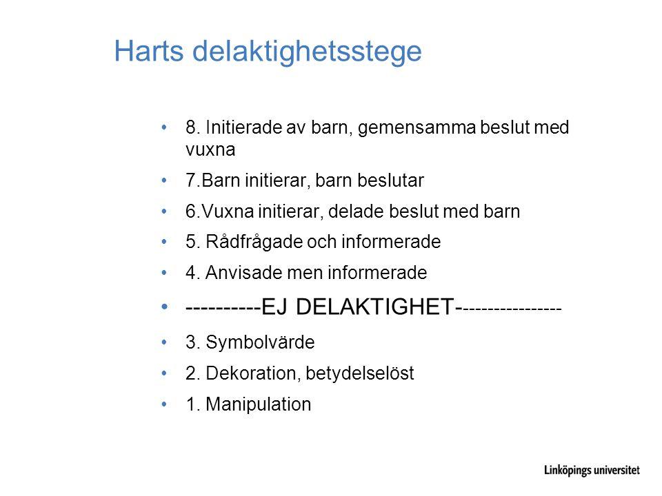 Harts delaktighetsstege 8.