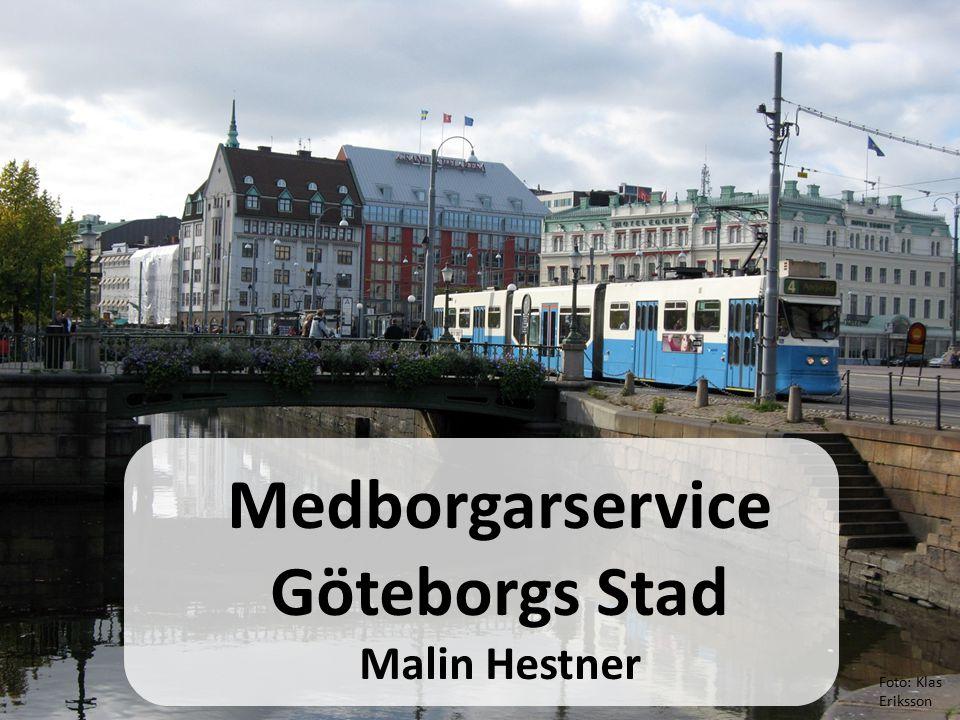 30% tillgänglighet Långt efter med digitalisering och e- tjänster ca 300 olika webbplatser 30 växlar, som inte var sammankopplade Göteborgs stad i början av 2008…..