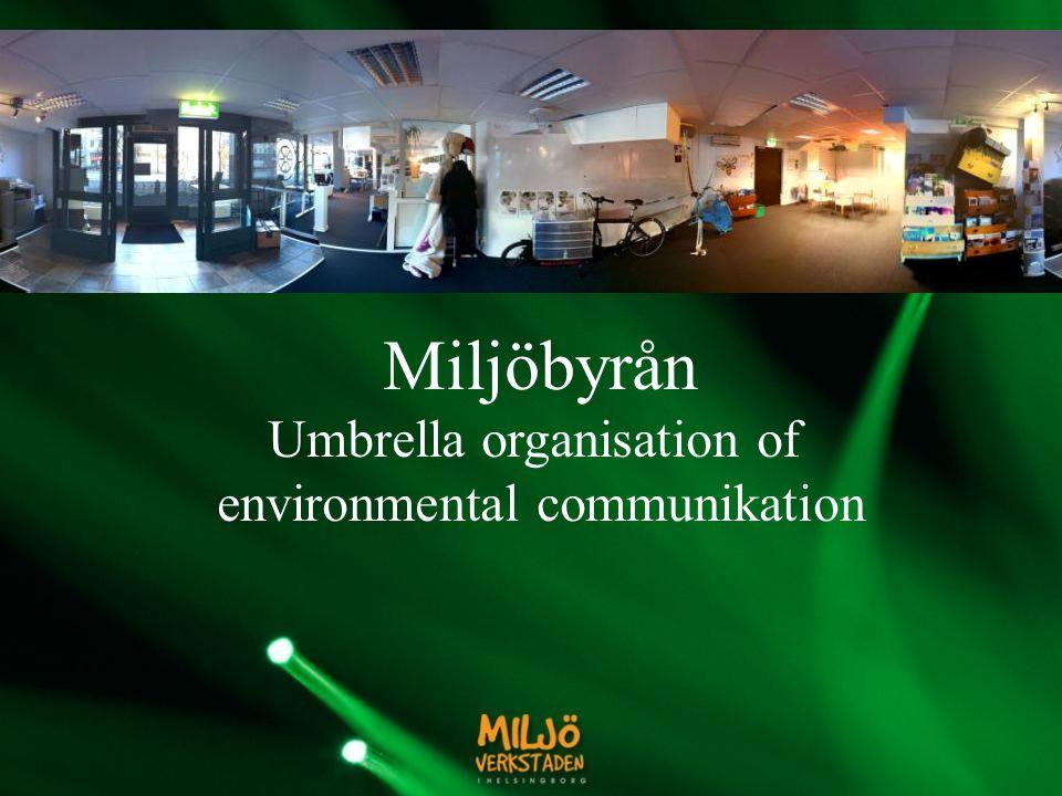 Miljöbyrån Umbrella organisation of environmental communikation