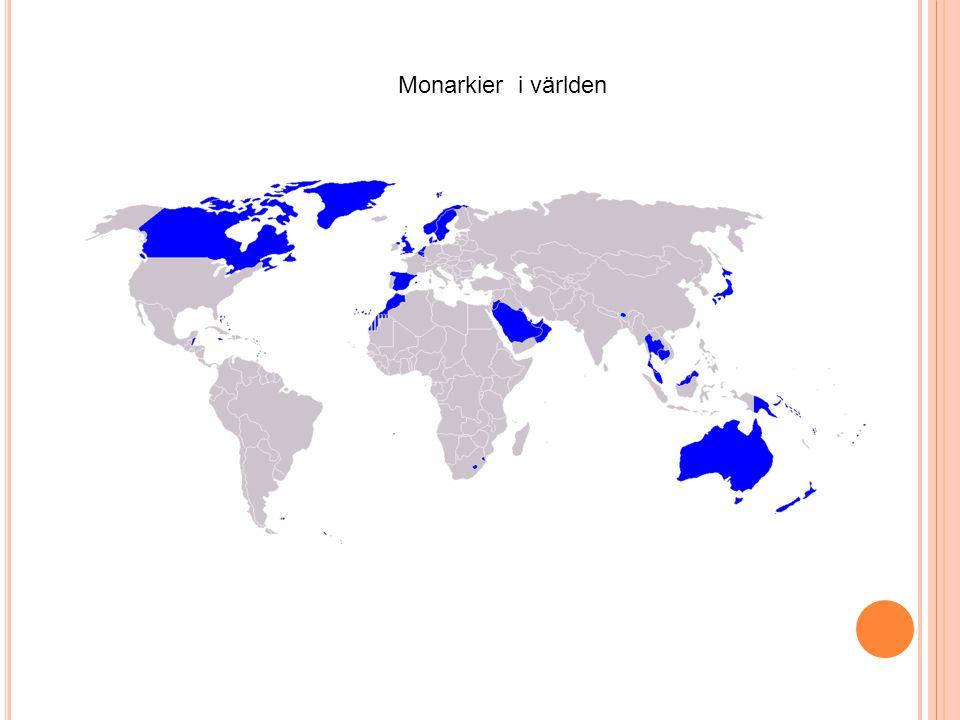 Republiker i Europa (blå färg) Kännetecken: Statsöverhuvudet i demokratiska republiker utses genom val.
