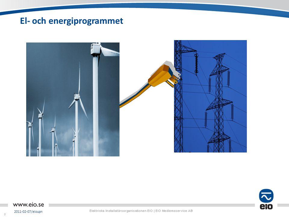 22 El- och energiprogrammet 2011-02-07/eioupn