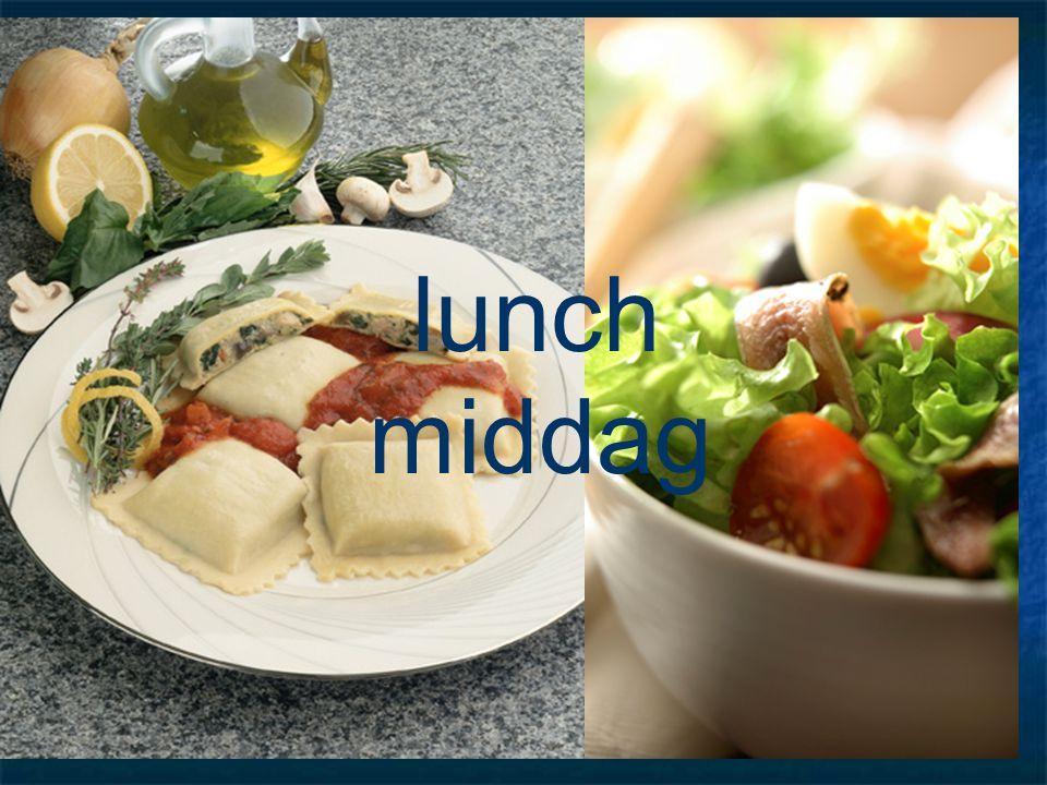 lunch middag