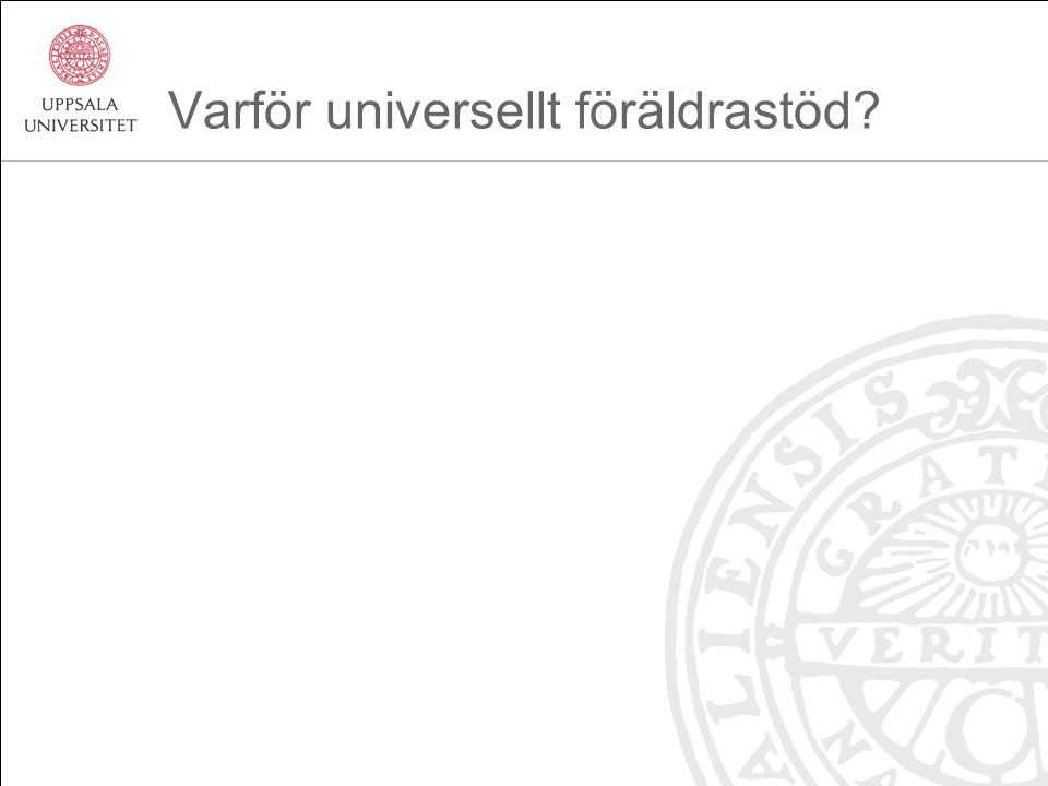 Det preventiva paradoxet Proportionate universality (Sir Michael Marmot, www.marmotrevi ew.org) Universella insatser