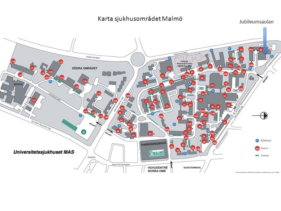 Jubileumsaulan Karta sjukhusområdet Malmö