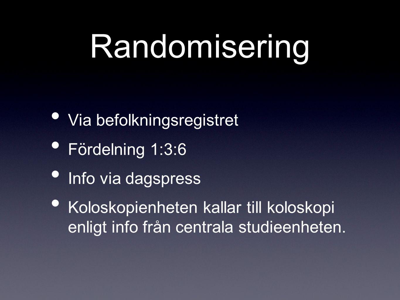 Linköping Screeningkoloskopi 1 d/v. Kom igång i augusti. Fn väntelista/kö