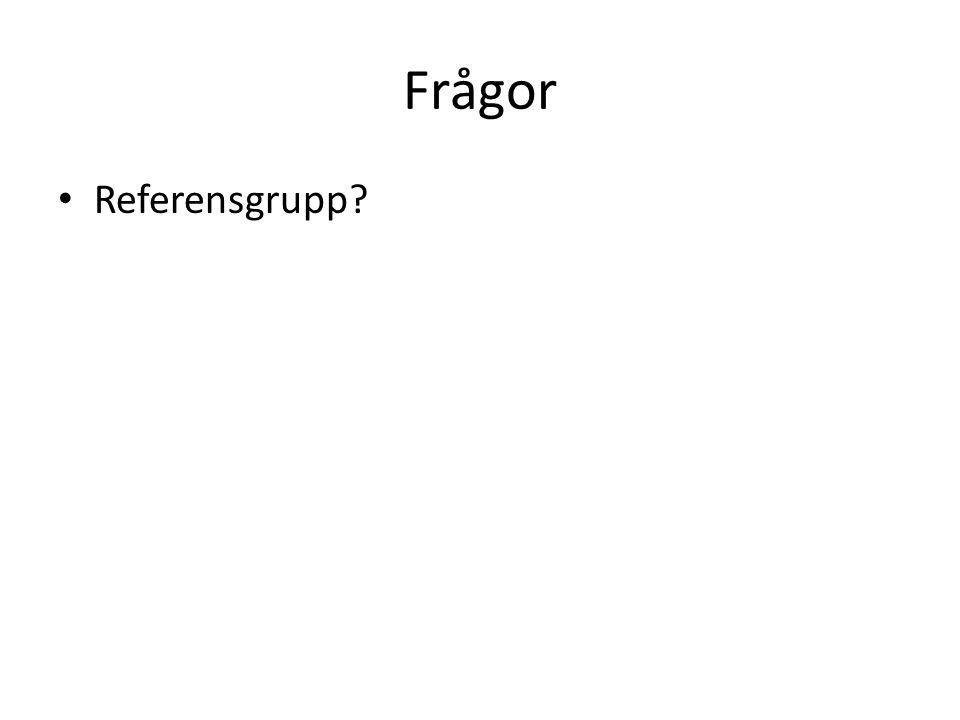 Frågor Referensgrupp