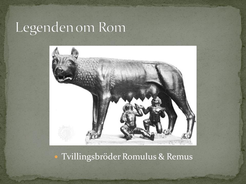 Tvillingsbröder Romulus & Remus