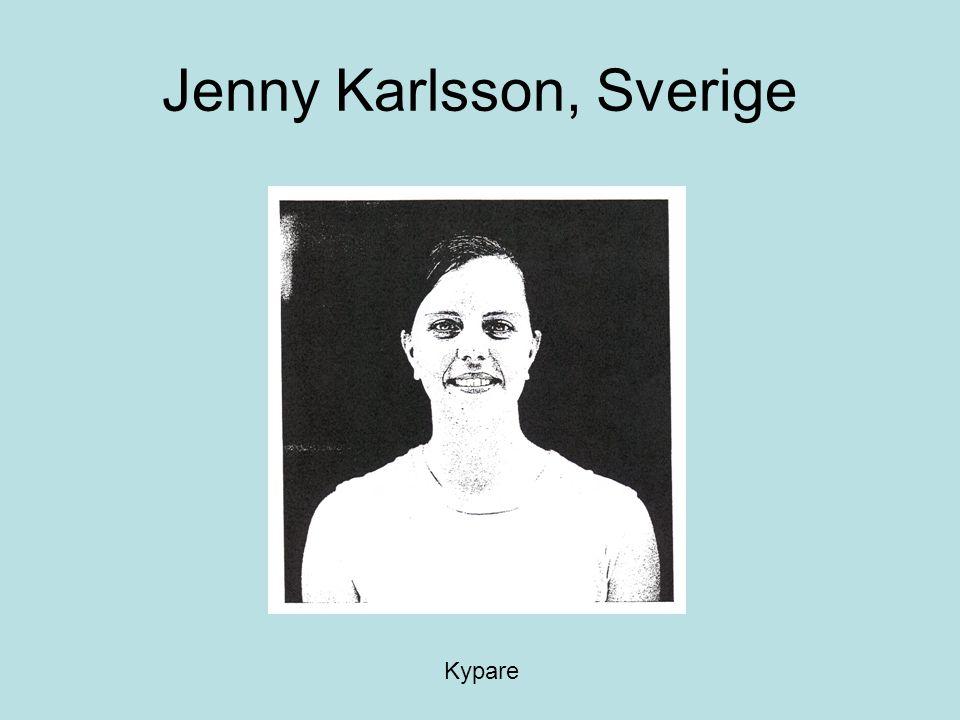 Jenny Karlsson, Sverige Kypare