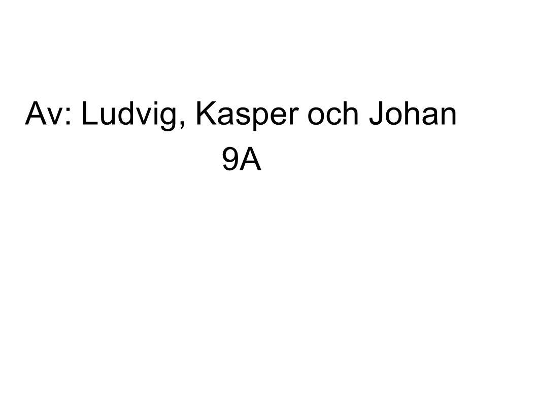 Av: Ludvig, Kasper och Johan 9A