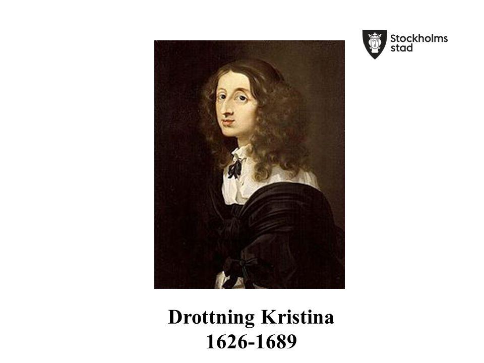 Gustav II Adolf dör i Lützen 1632.Kristina är 5 år.