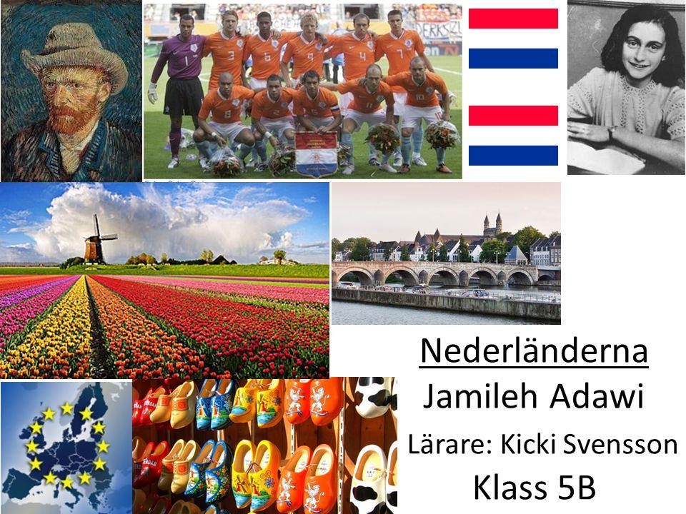 Flaggan Nederländernas flagga är röd, vit & blå sedan 1580 Innan dess var den orange, vit & blå.