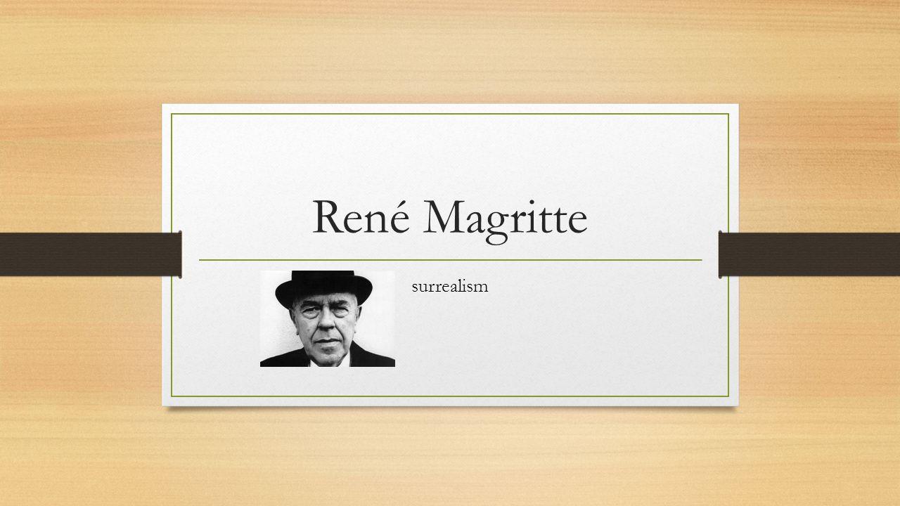 René Magritte surrealism