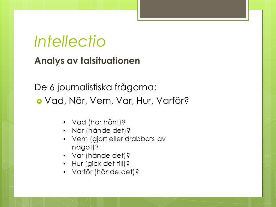 Inventio Stoffsamling Frågorna: Vad.När. Var. Vem.