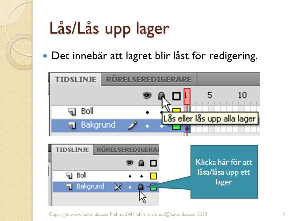 Visa endast konturer Copyright, www.hakimdata.se, Mahmud Al Hakim, mahmud@hakimdata.se, 201010 Klicka här för att Visa endast konturer