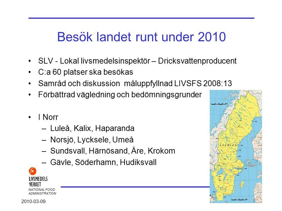 NATIONAL FOOD ADMINISTRATION 2010-03-09 - Utrustning - Ni ska nå bergets topp senast onsdag Vad krävs av gruppen.