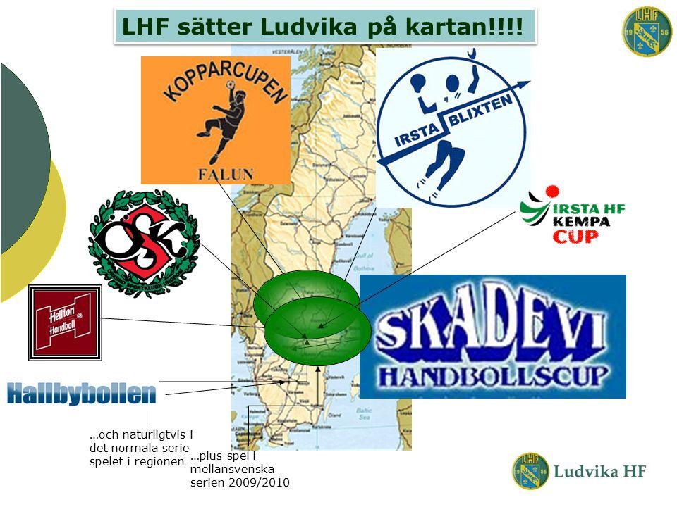 LHF sätter Ludvika på kartan!!!! …och naturligtvis i det normala serie spelet i regionen …plus spel i mellansvenska serien 2009/2010