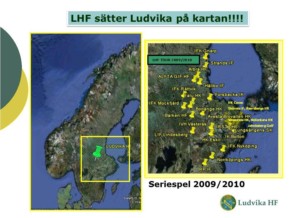 LHF sätter Ludvika på kartan!!!! Seriespel 2009/2010