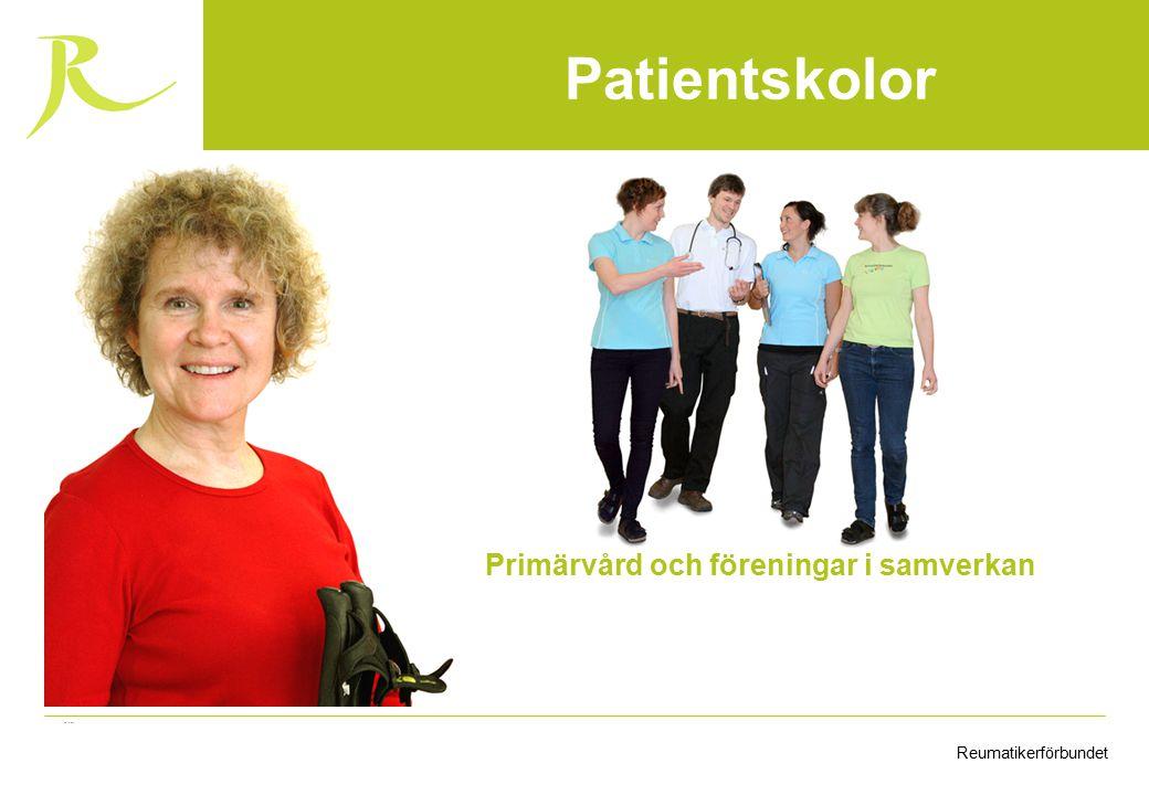 ReumatikerförbundetFinansieras av Arvsfonden Primärvård och föreningar i samverkan Patientskolor