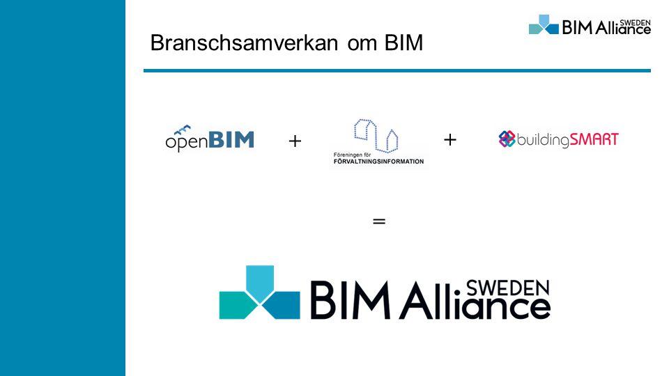 Branschsamverkan om BIM + + =