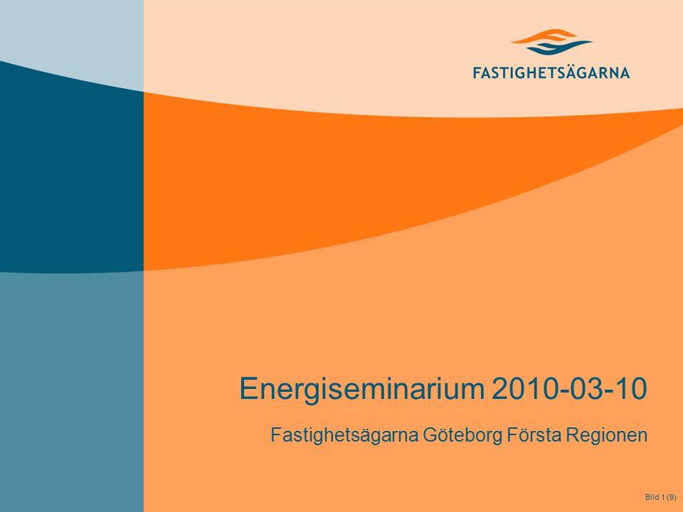 Energiseminarium 2010-03-10 Fastighetsägarna Göteborg Första Regionen Bild 1 (9)