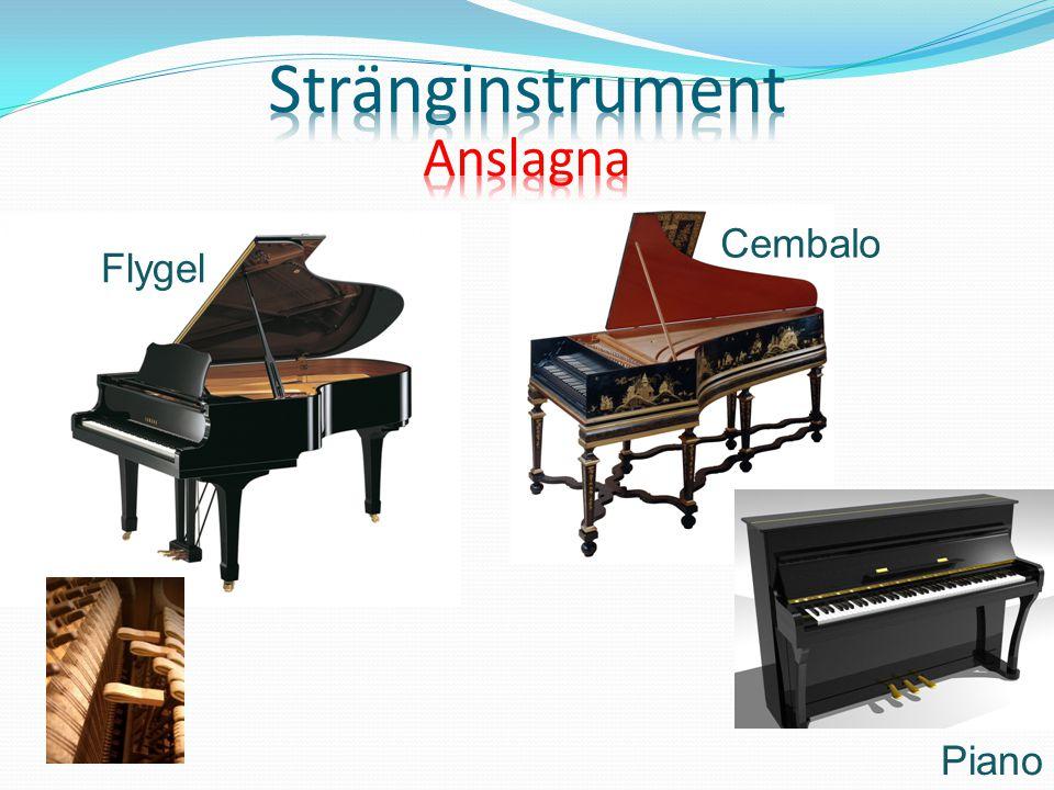 Piano Flygel Cembalo