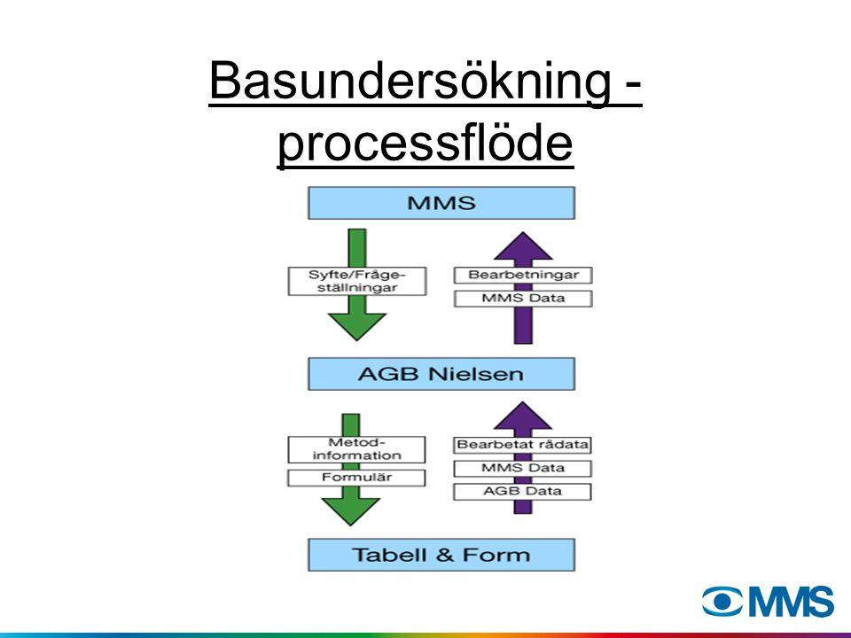 Basundersökning - processflöde