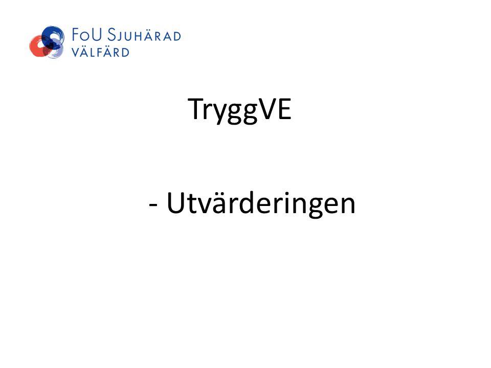 TryggVE - Utvärderingen