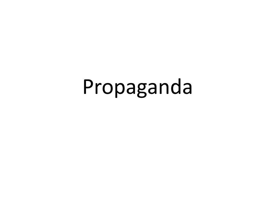 Länder med diktatur har lättare än demokratier att framföra sin propaganda eftersom de har full kontroll över massmedia.