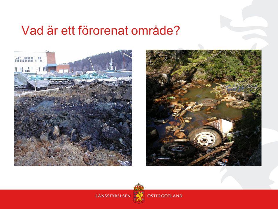 Vad är ett förorenat område