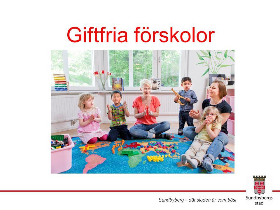 Sundbyberg – där staden är som bäst Giftfria förskolor