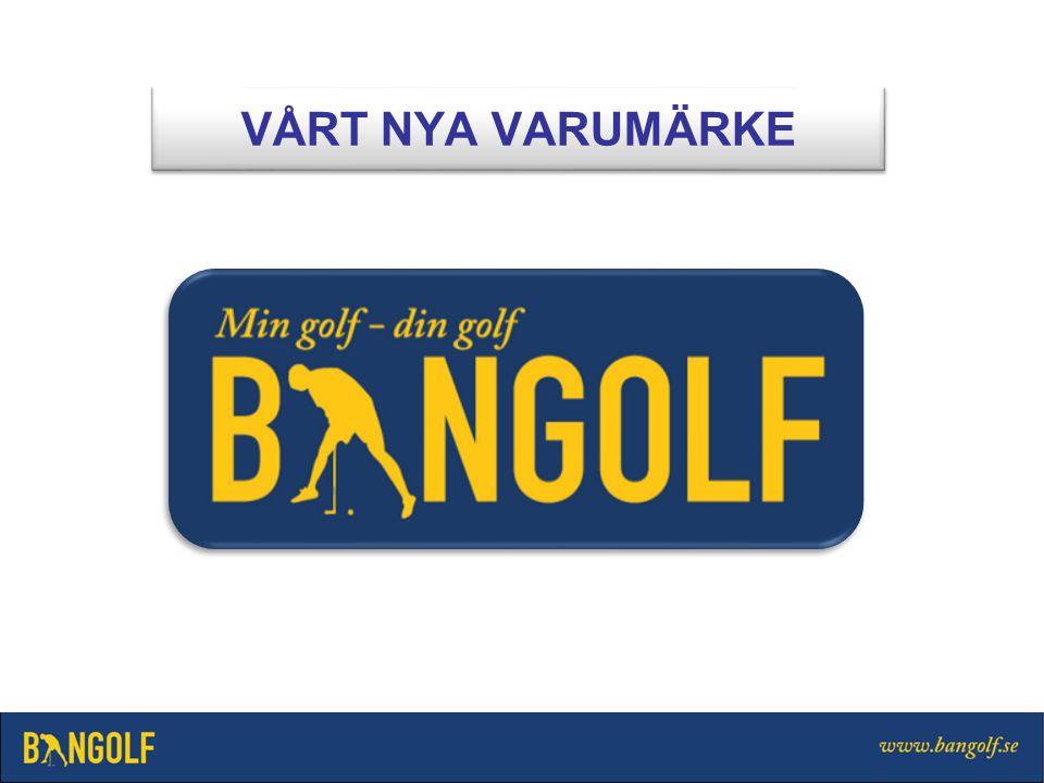 TÄVLINGSSPORTEN Min golf kommer att läsas Minigolf av många Din golf tillhör alla är en form av golf IGENKÄNNINGSELEMENT STILISERAD BANGOLFFIGUR