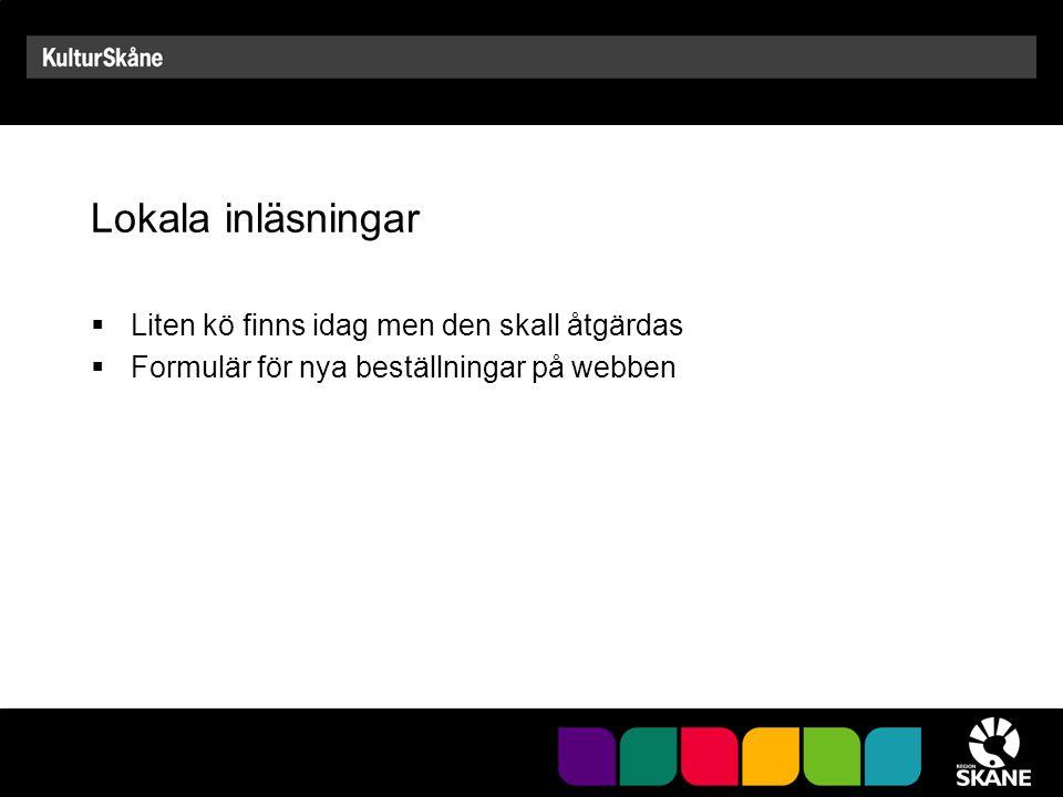 Projekt Ladda själv Parallell till Student direkt Fem gymnasieskolor i Skåne Startade i april och pågår till våren 2011
