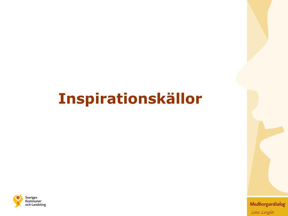 Lena Langlet Inspirationskällor